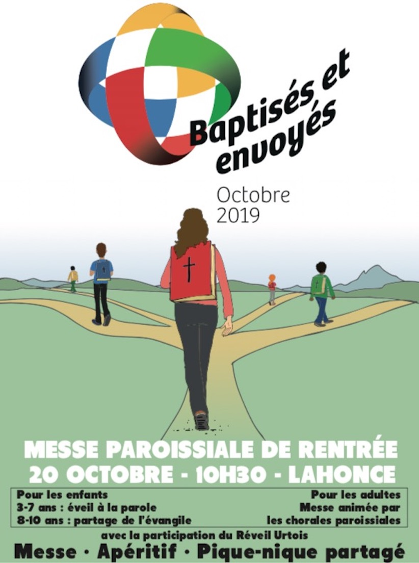 Invitation Messe Rentree 2019
